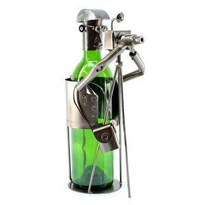 Photographer 1 Bottle Tabletop Wine Rack by Three Star Im/Ex Inc.