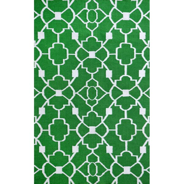 Ozzie Green Indoor/Outdoor Area Rug by Alcott Hill