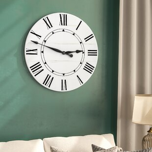 Oversized Tracee Farmhouse Wall Clock