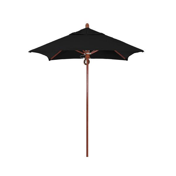 Sierra Series 6' Square Market Sunbrella Umbrella by California Umbrella