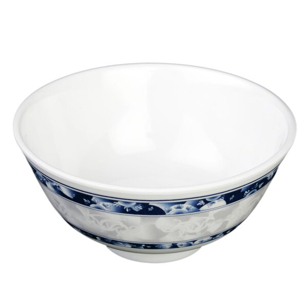 Heerenveen 9 oz. Melamine Rice Bowl (Set of 12) by Bloomsbury Market