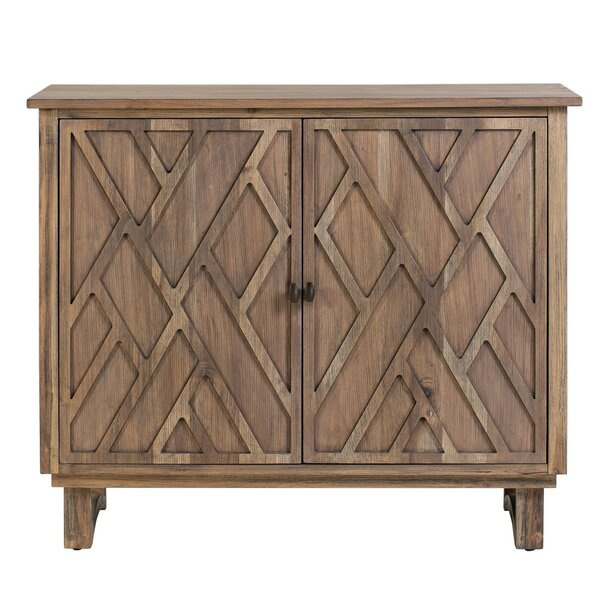 Westling Chippendale Fretwork 2 Door Accent Cabinet by Union Rustic Union Rustic