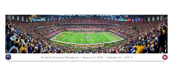NCAA BCS Football Championship 2012 Photographic Print by Blakeway Worldwide Panoramas, Inc