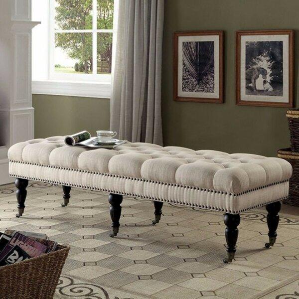 Kleist Plushy Upholstered Bench by Alcott Hill
