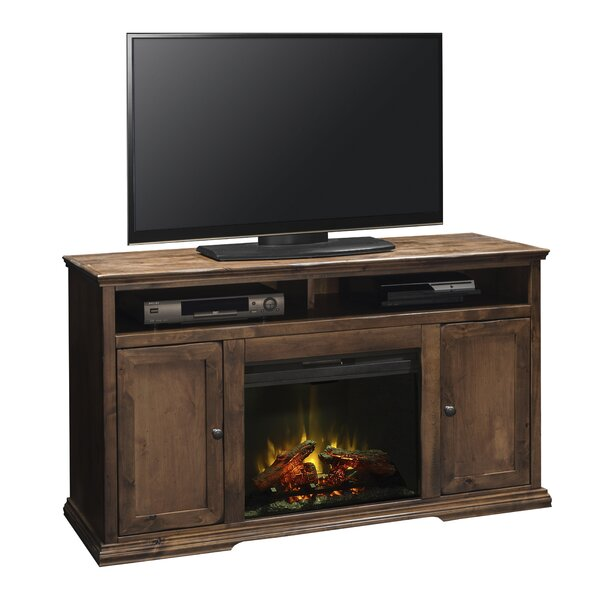 Normandy Lane 59 TV Stand with Fireplace by Darby Home Co