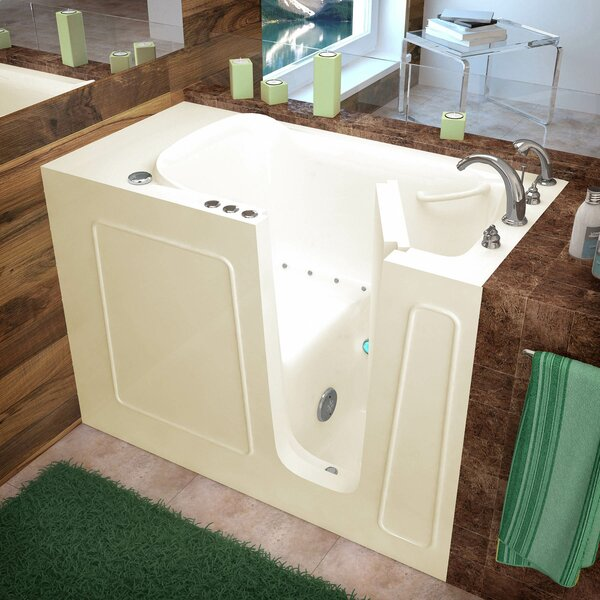 Santa Fe 53 x 26 Walk-In Air Jetted Bathtub by Therapeutic Tubs