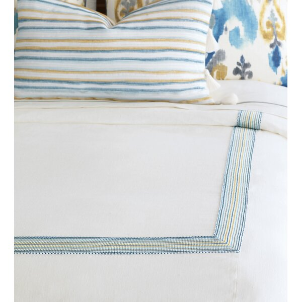 Aoki Breeze Shell Button-Tufted Comforter by Eastern Accents