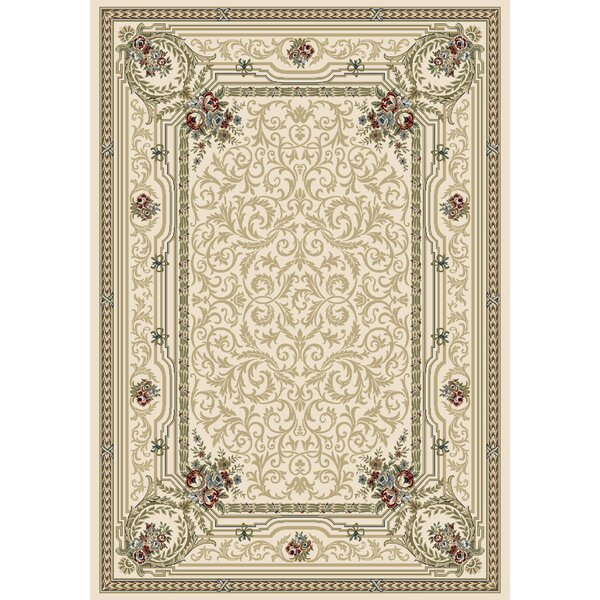 Attell Persian Ivory Area Rug by Astoria Grand