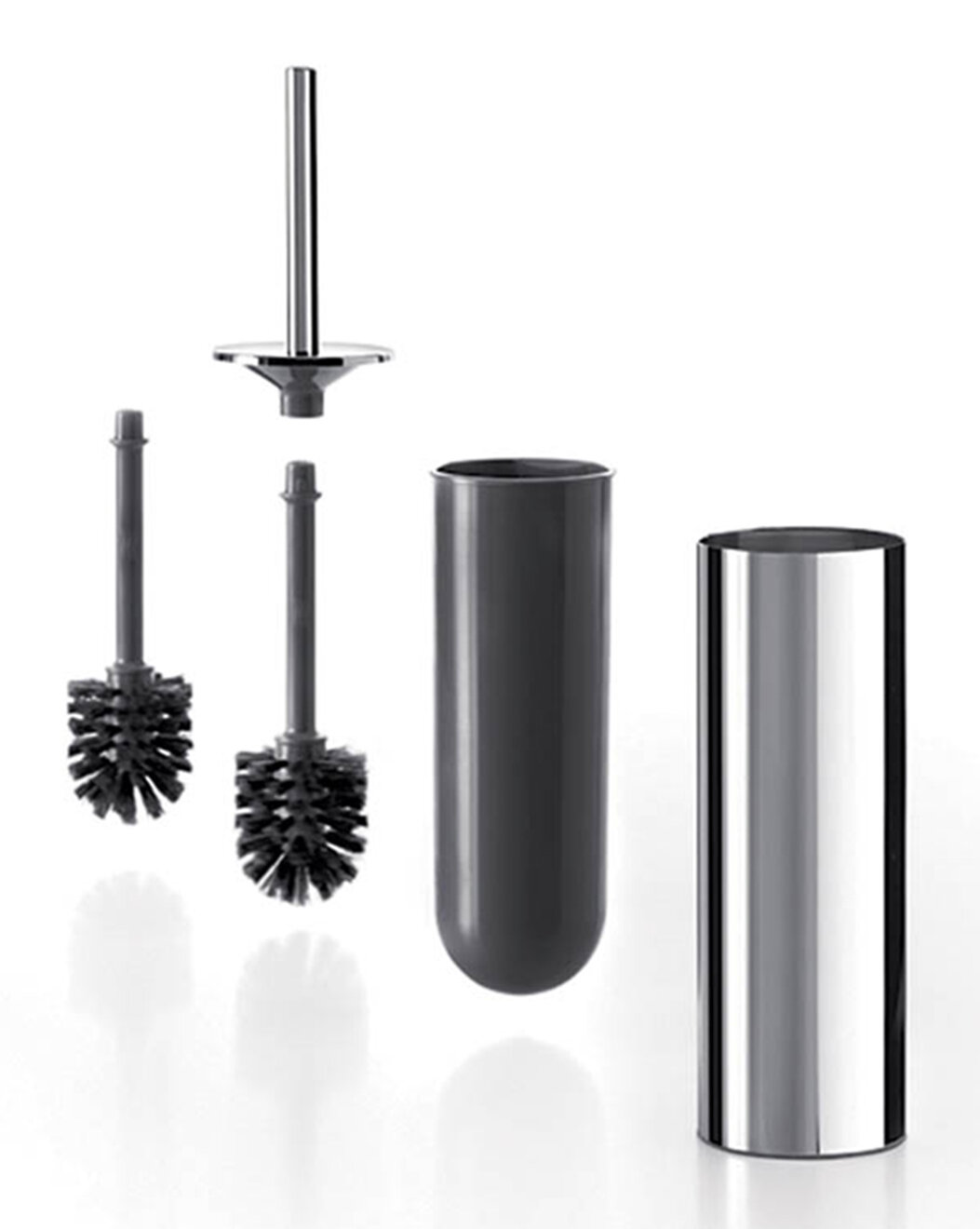 Ws Bath Collections Gealuna 15 7in H Free Standing Toilet Brush And Holder Wayfair