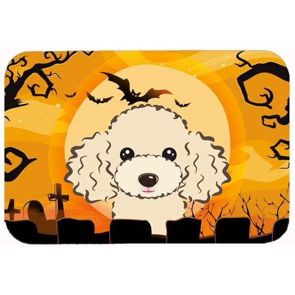 Testa Poodle Kitchen/Bath Mat by The Holiday Aisle