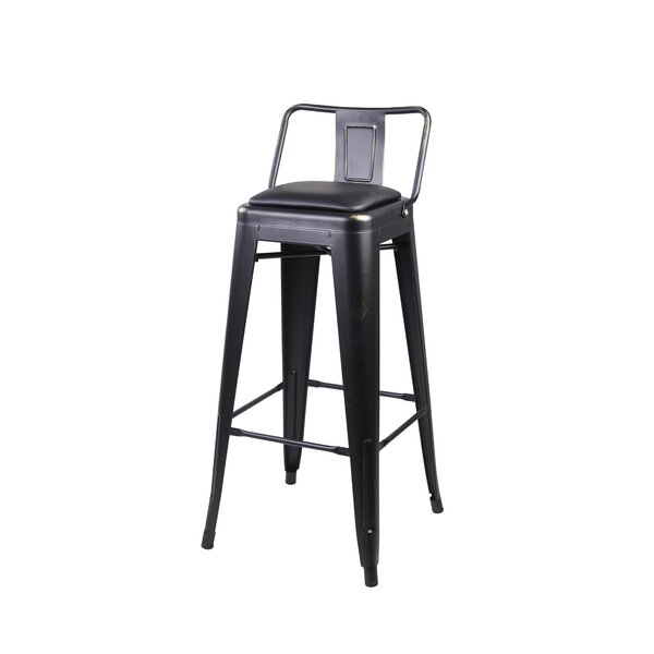 Alric 30 Bar Stool by 17 Stories