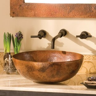 Check Prices Maestro Metal Oval Vessel Bathroom Sink By Native Trails, Inc.