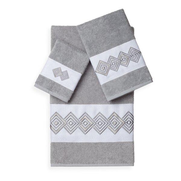 Byron 3 Piece Turkish Cotton Towel Set by Orren Ellis