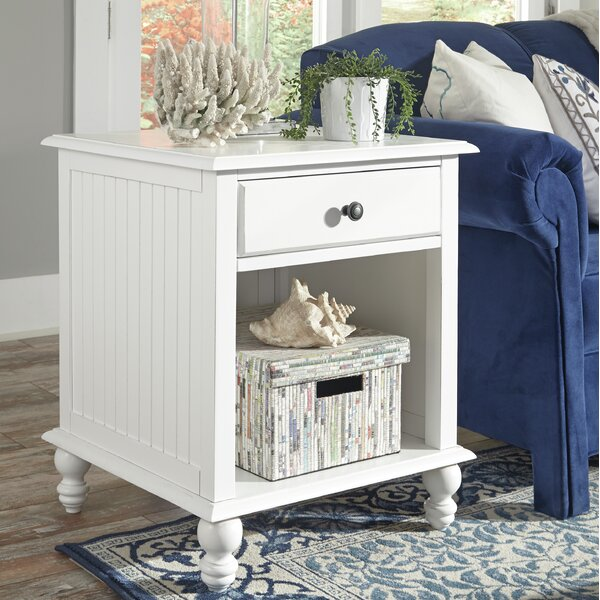 Review Witherspoon End Table With Storage