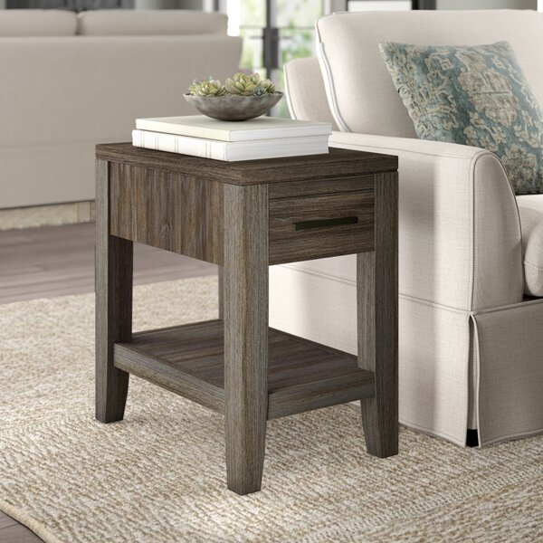 Docia End Table by Greyleigh Greyleigh