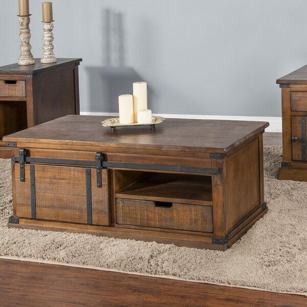 Persil Barn Door Coffee Table by Gracie Oaks