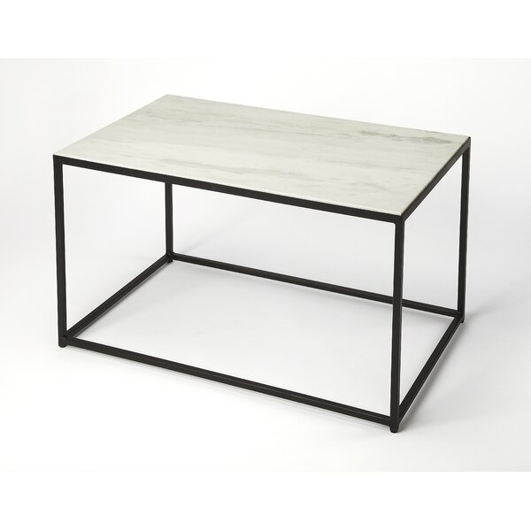 Ivy Bronx Gettys Marble/Metal Coffee Table | Wayfair.co.uk