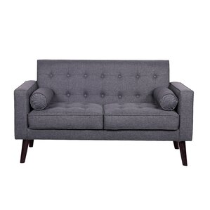 Looking for Zipcode Design Morre Solid Linen Tufted Loveseat