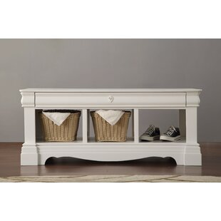 Romans Wood Storage Bench