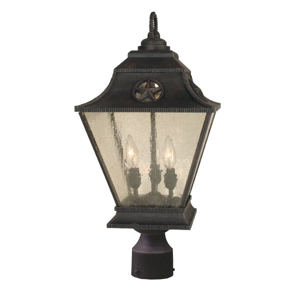 Oakhill 3-Light Bronze Aluminum Lantern Head by Charlton Home