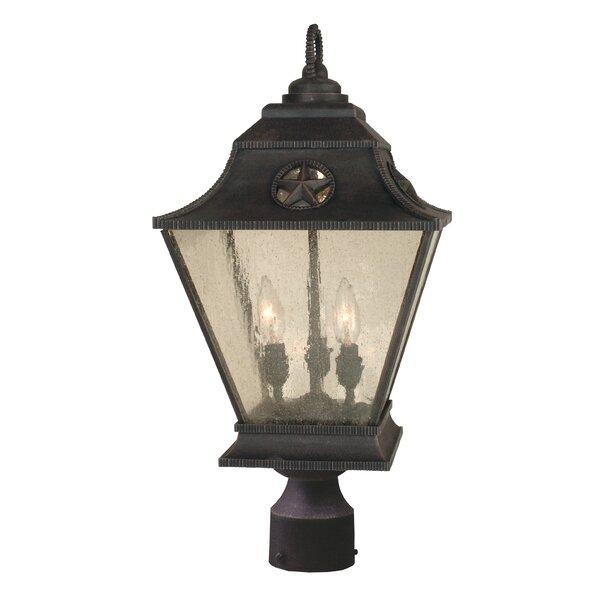 Oakhill 3-Light Bronze Aluminum Lantern Head by Charlton Home