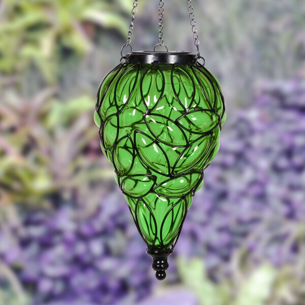 Solar Tear Decorative Lantern by Exhart