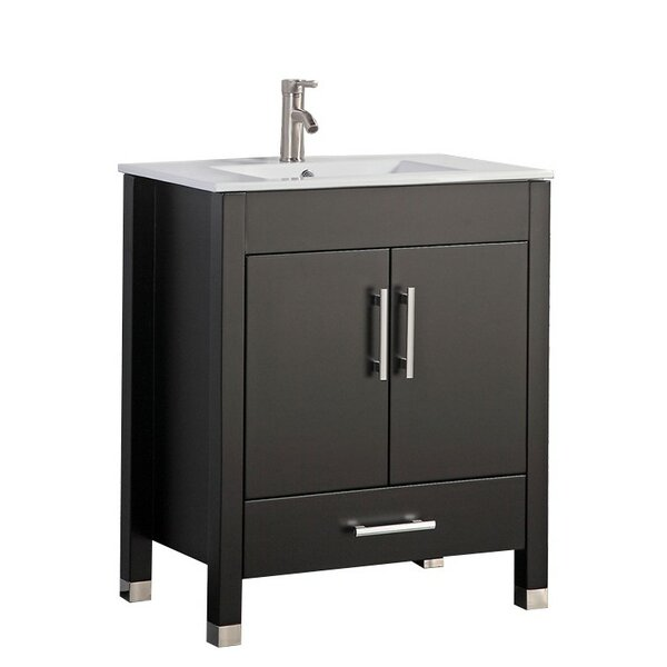 Predmore Modern 30 Single Bathroom Vanity Set by Orren Ellis