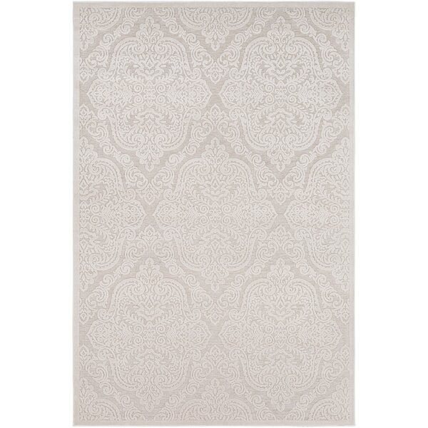 Geir Ivory Area Rug by Ophelia & Co.