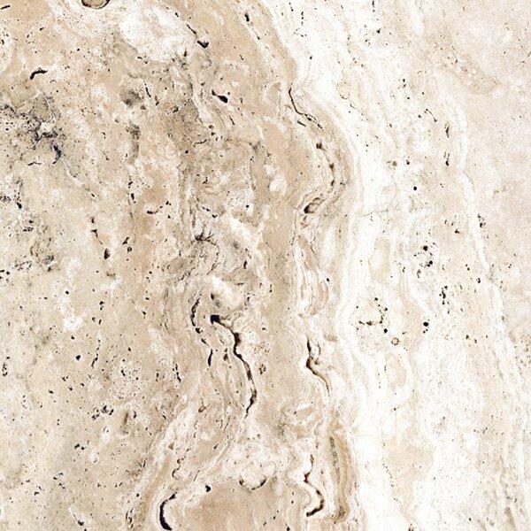 Pietra Roma 6 x 6 Porcelain Field Tile in Beige by Tesoro