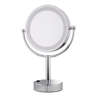 Best Reviews Minerva Makeup/Shaving Mirror By Symple Stuff