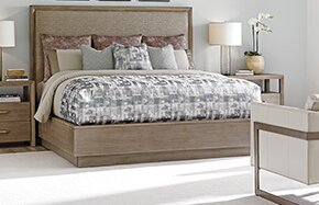Shadow Play Upholstered Standard Bed by Lexington