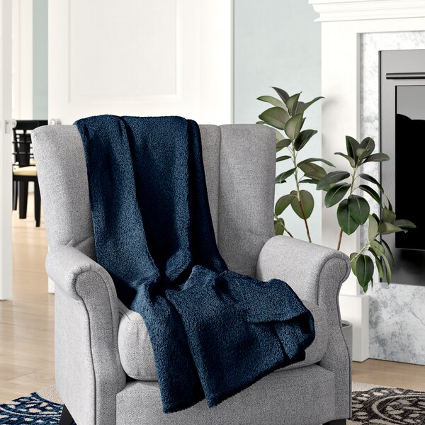 Geoff Modern Velvety Fleece Blanket by The Twillery Co.