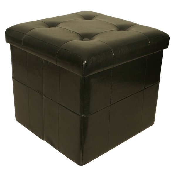 Whitten Collapsible Seat Storage Ottoman by Winston Porter