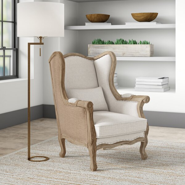 Lorinda 24.5-inch Wingback Chair by Greyleigh Greyleigh