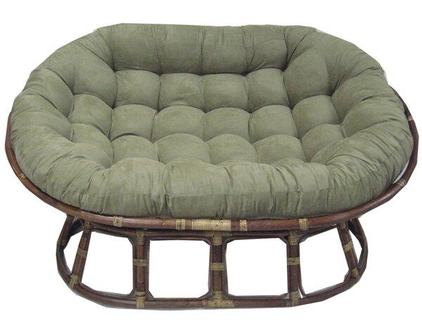 Indoor Papasan Cushion by Bay Isle Home