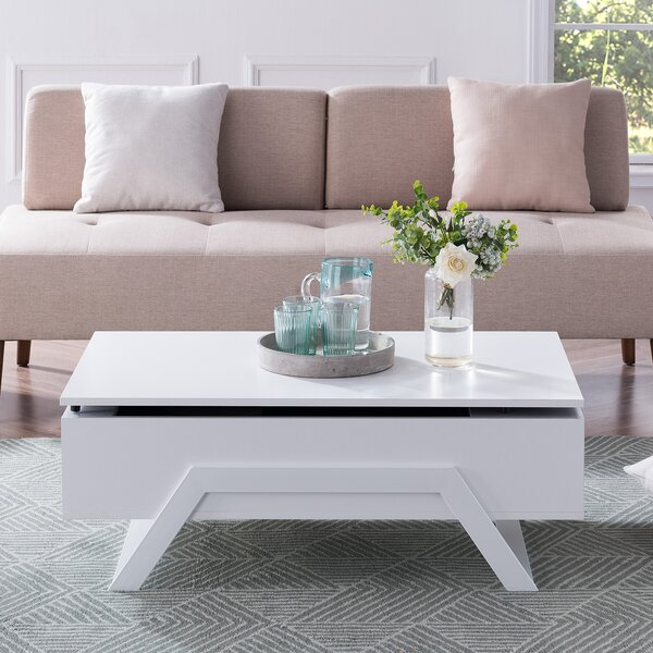 Delrio Lift Top Coffee Table by Orren Ellis