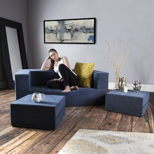 Haggerty 3 Piece Sleeper Living Room Set by Ebern Designs