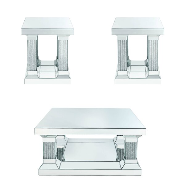 Vanpelt 3 Piece Coffee Table Set By Rosdorf Park