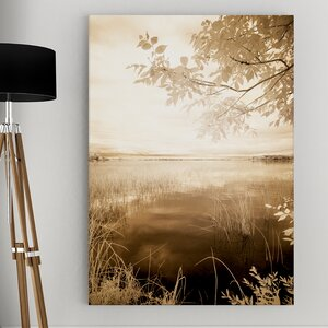 Peaceful Morning II by Monte Nagler Photographic Print on Wrapped Canvas by Wexford Home