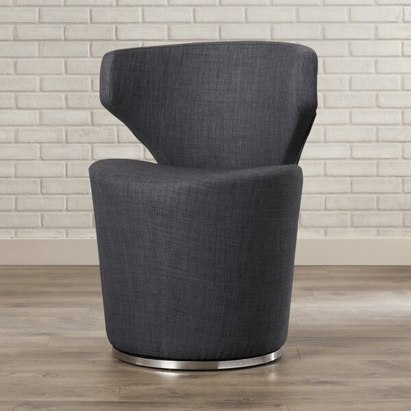 Barrier Barrel Chair by Mercury Row