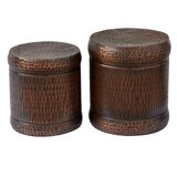 Lindie Metal Accent Stool by World Menagerie