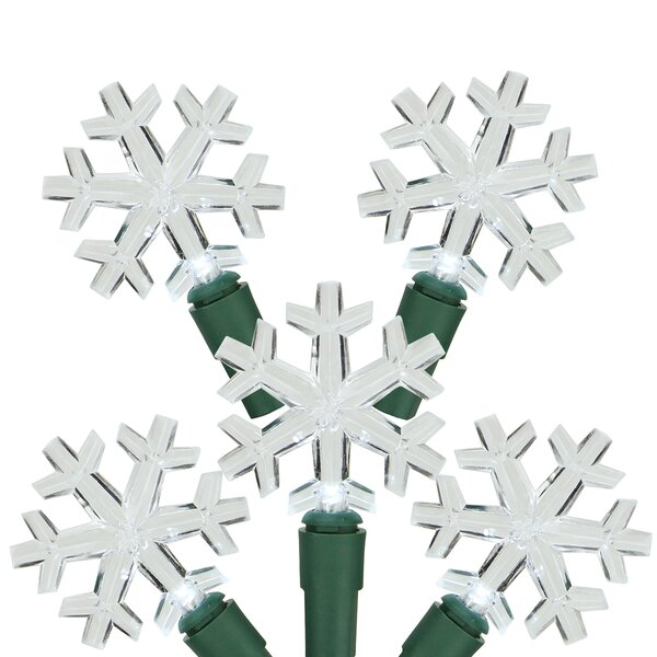 LED Snowflake Christmas Light by Northlight Seasonal