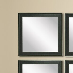 Reviews Wanner Accent Mirror (Set of 4) ByWrought Studio