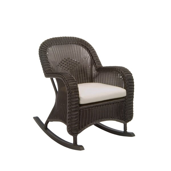 Plantation Rocking Chair with Cushions by Summer Classics