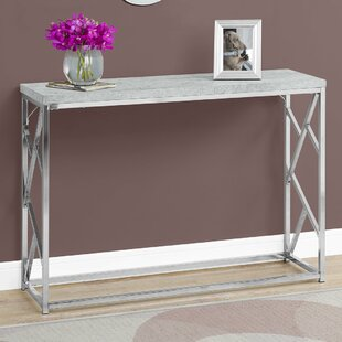 Big Save Cyrano Metal Console Table By Latitude Run
