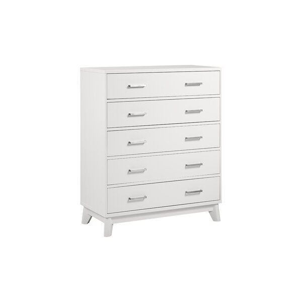 Kingsley Wyndham 5 Drawer Chest by Muniré