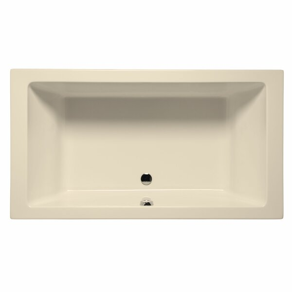 Naples 66 x 42 Whirlpool and Air Jet Bathtub by Malibu Home Inc.