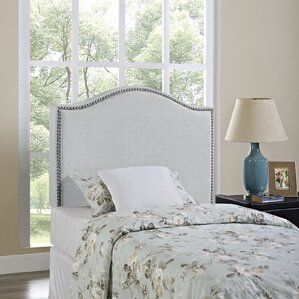 Upholstered Panel Headboard by Charlton Home