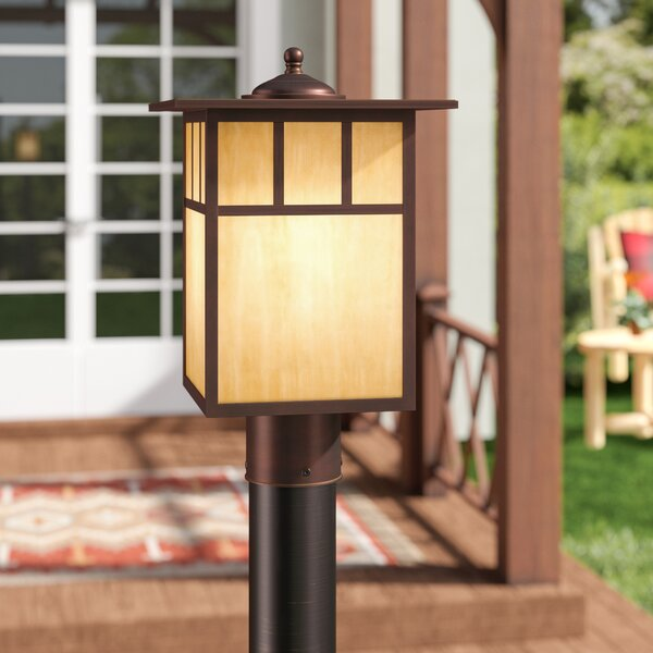 Joelle Outdoor 1-Light 150W Lantern Head by Loon Peak
