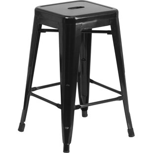 Compare prices Lompoc 24 Bar Stool by Trent Austin Design